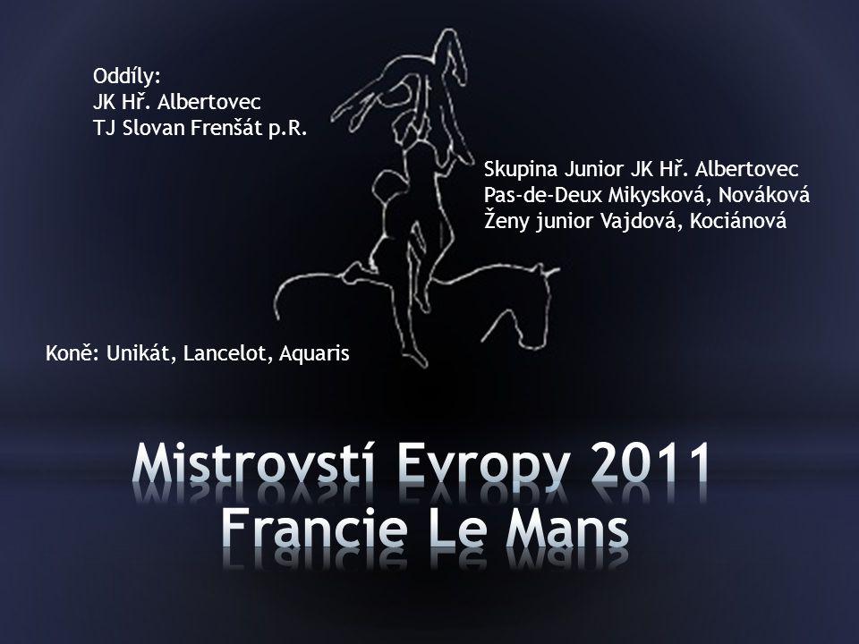 Mistrovstí Evropy 2011 Francie Le Mans