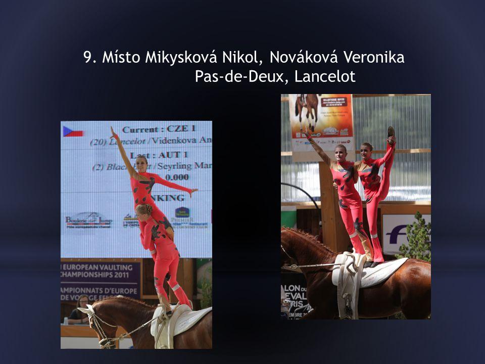 9. Místo Mikysková Nikol, Nováková Veronika