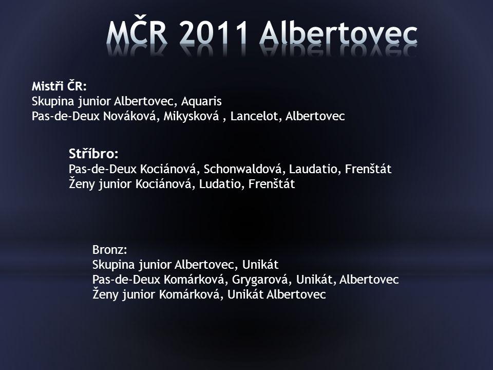MČR 2011 Albertovec Stříbro: Mistři ČR:
