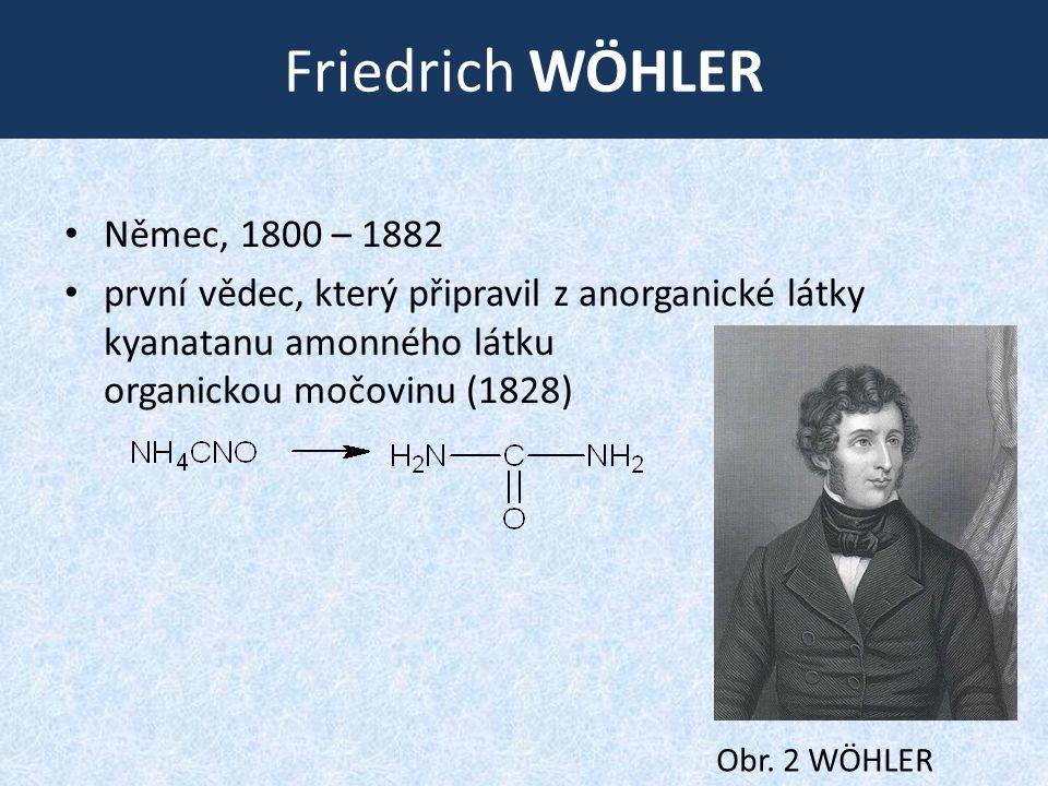 Friedrich Wöhler Němec, 1800 – 1882