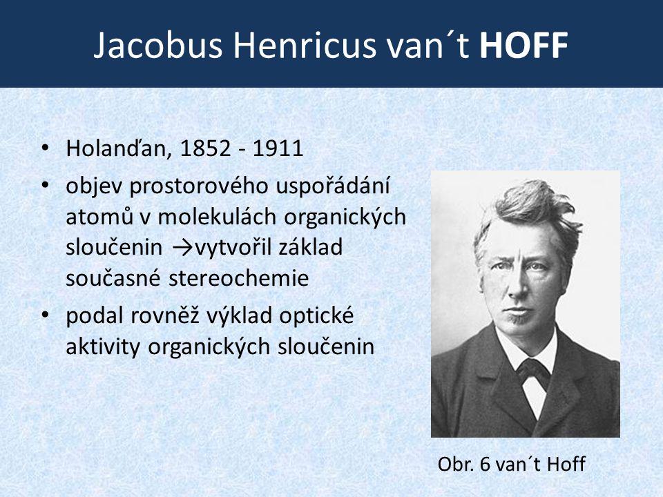 Jacobus Henricus van´t HOFF