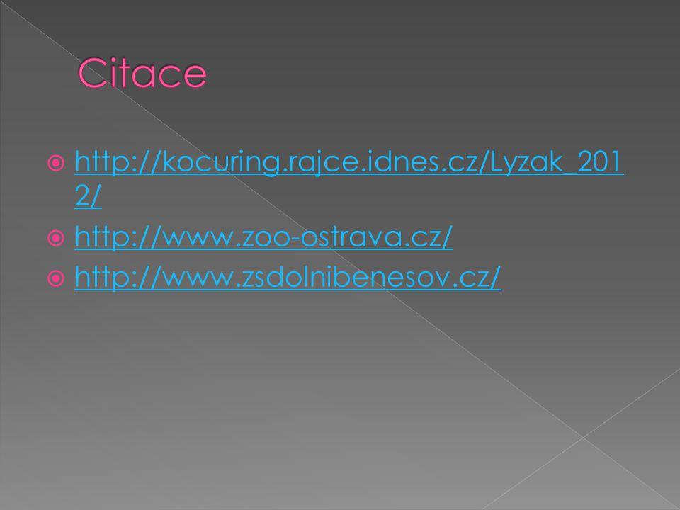 Citace http://kocuring.rajce.idnes.cz/Lyzak_2012/