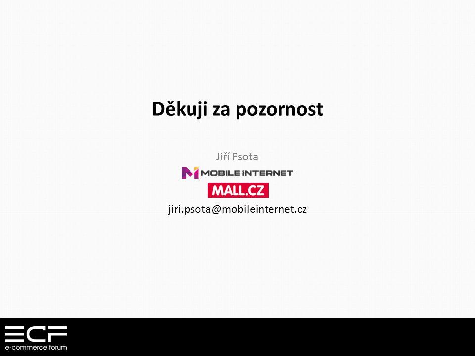 Děkuji za pozornost Jiří Psota jiri.psota@mobileinternet.cz