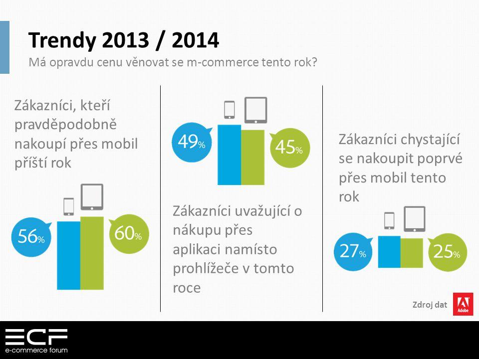 Trendy 2013 / 2014 Má opravdu cenu věnovat se m-commerce tento rok