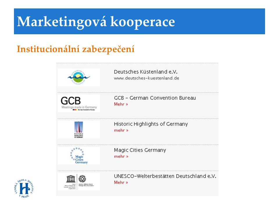 Marketingová kooperace