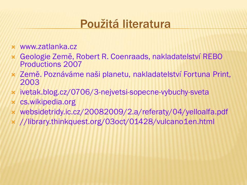 Použitá literatura www.zatlanka.cz