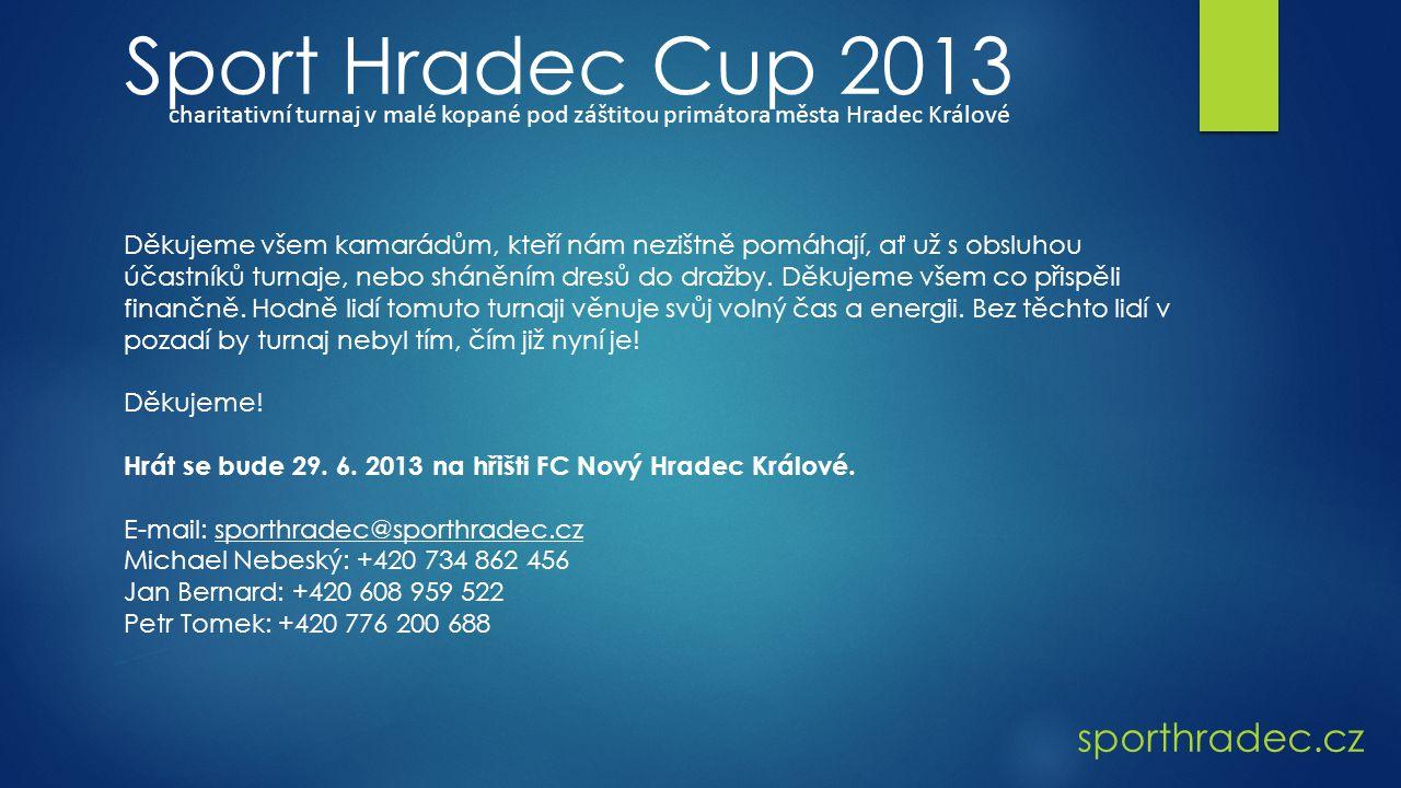 Sport Hradec Cup 2013 sporthradec.cz