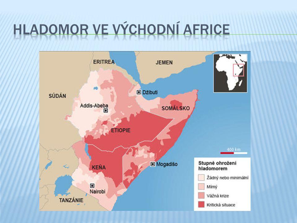 Hladomor ve východní Africe