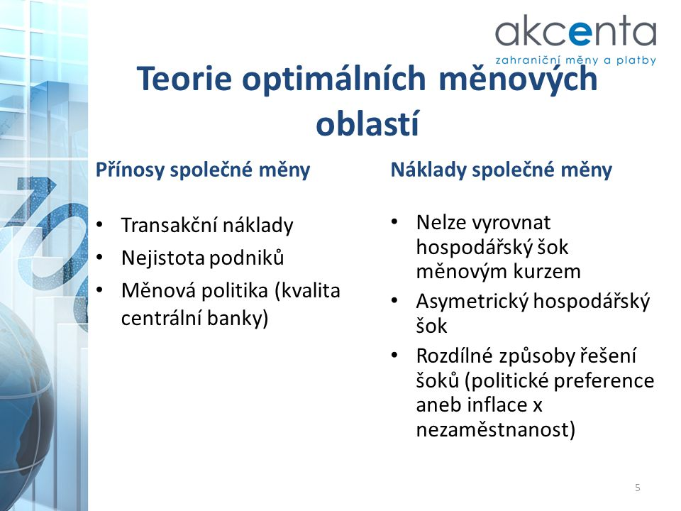 Teorie optimálních měnových oblastí