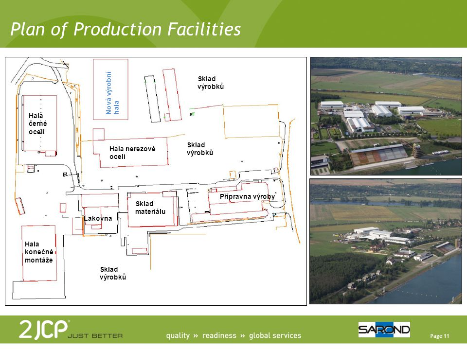 Plan of Production Facilities