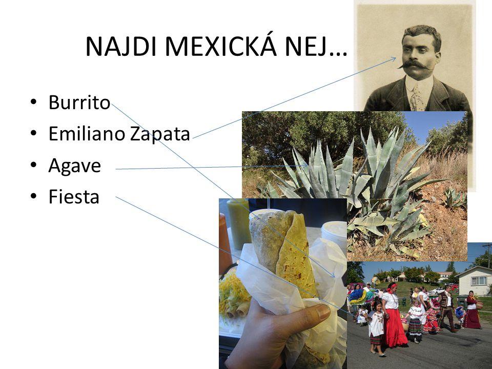 NAJDI MEXICKÁ NEJ… Burrito Emiliano Zapata Agave Fiesta