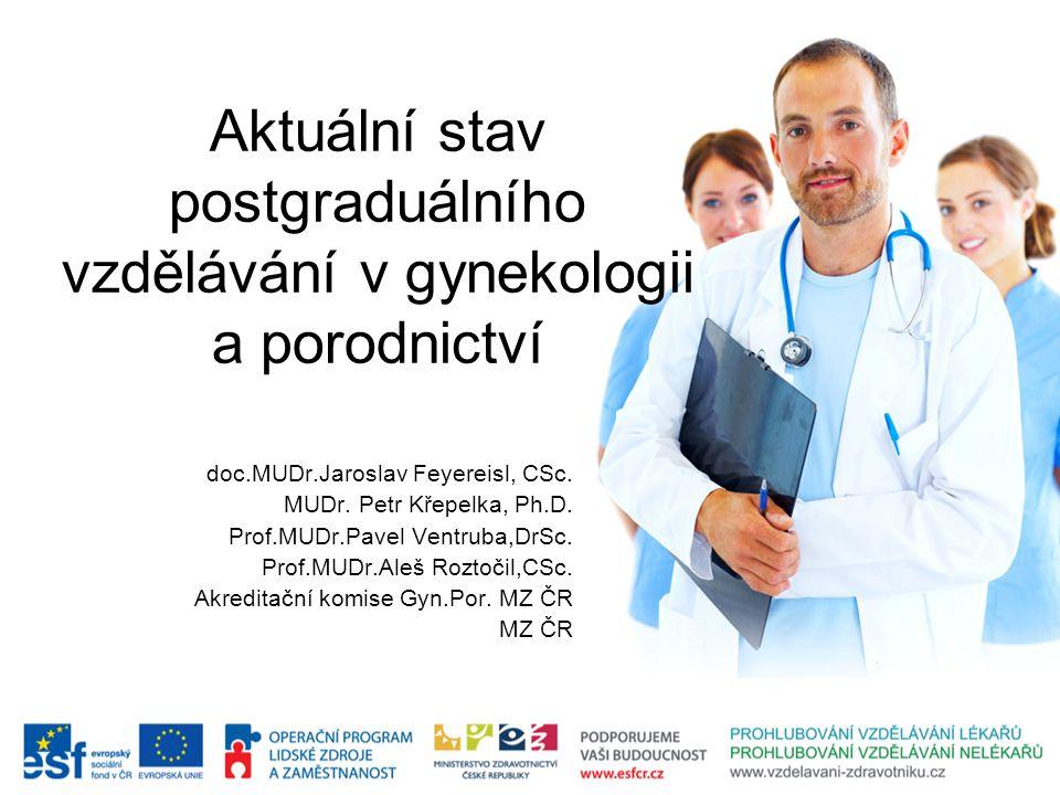 Aktuální stav postgraduálního vzdělávání v gynekologii a porodnictví