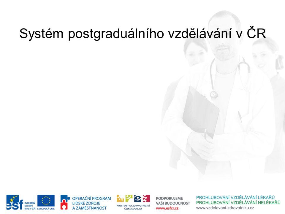 Systém postgraduálního vzdělávání v ČR