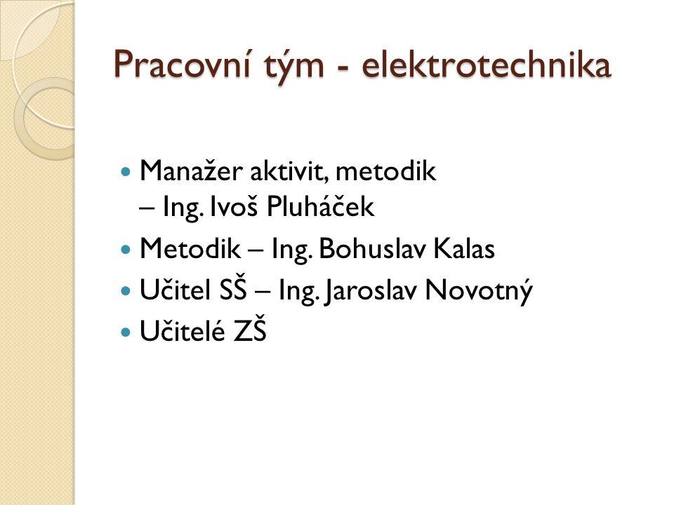 Pracovní tým - elektrotechnika
