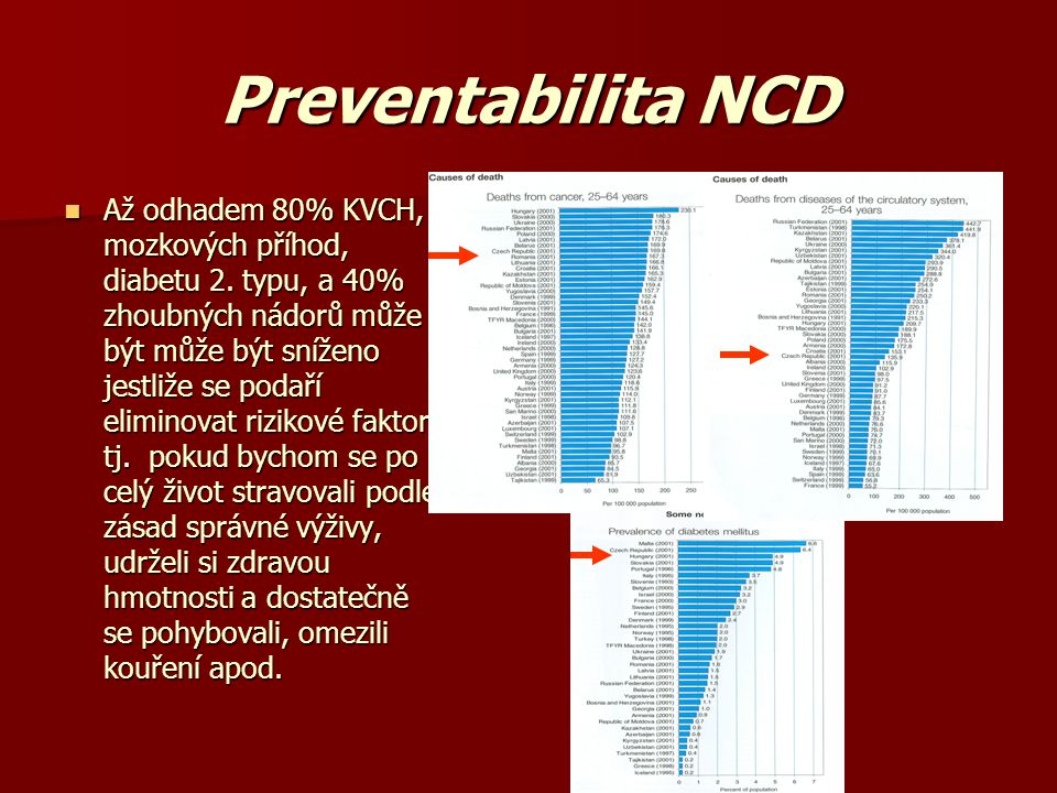 Preventabilita NCD