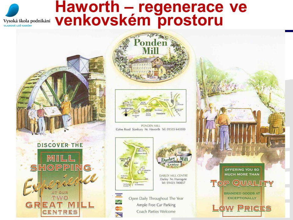 Haworth – regenerace ve venkovském prostoru