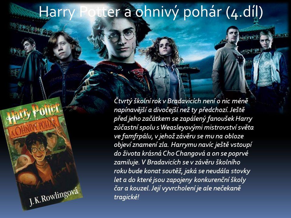 Harry Potter a ohnivý pohár (4.díl)
