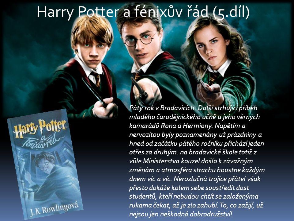 Harry Potter a fénixův řád (5.díl)