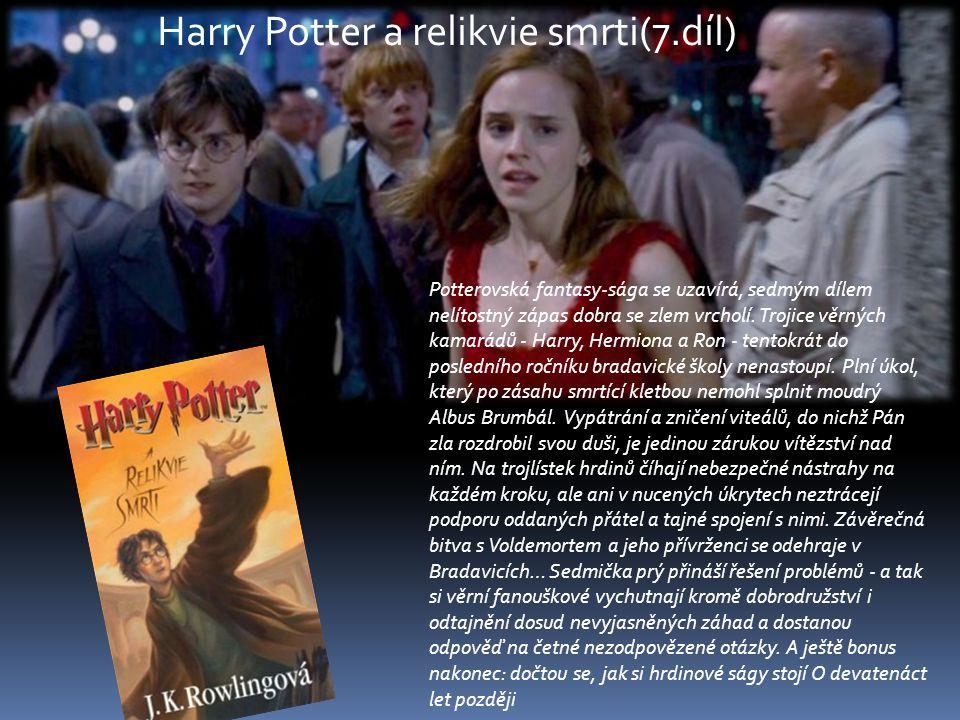 Harry Potter a relikvie smrti(7.díl)