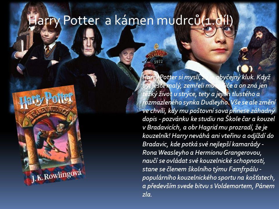 Harry Potter a kámen mudrců(1.díl)