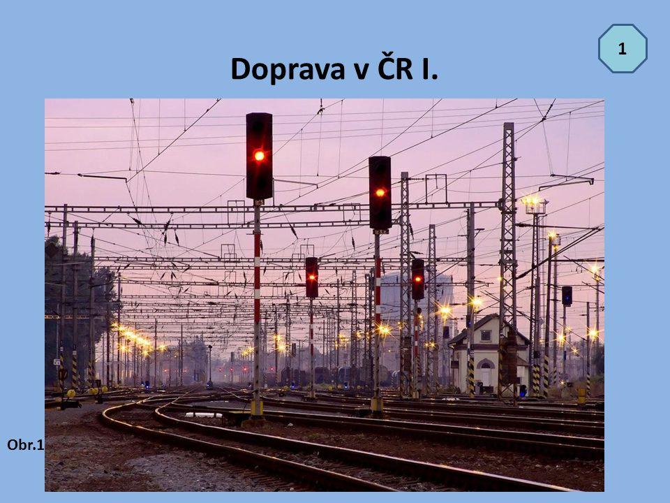 Doprava v ČR I. 1 Obr.1