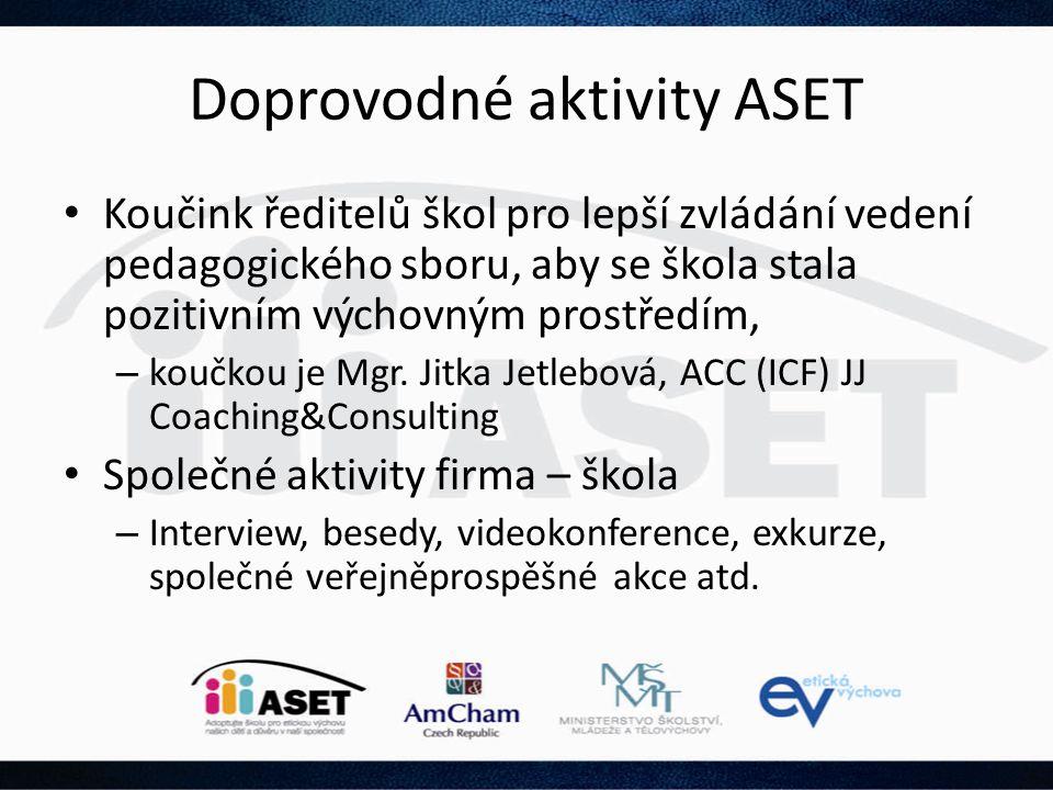 Doprovodné aktivity ASET