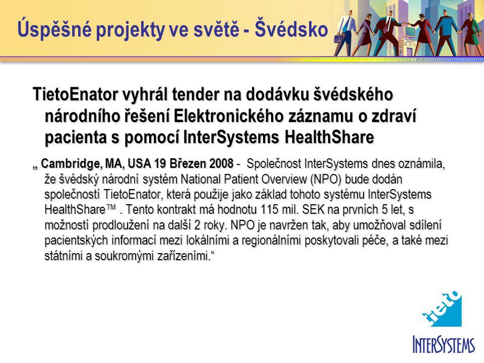 Úspěšné projekty ve světě - Švédsko