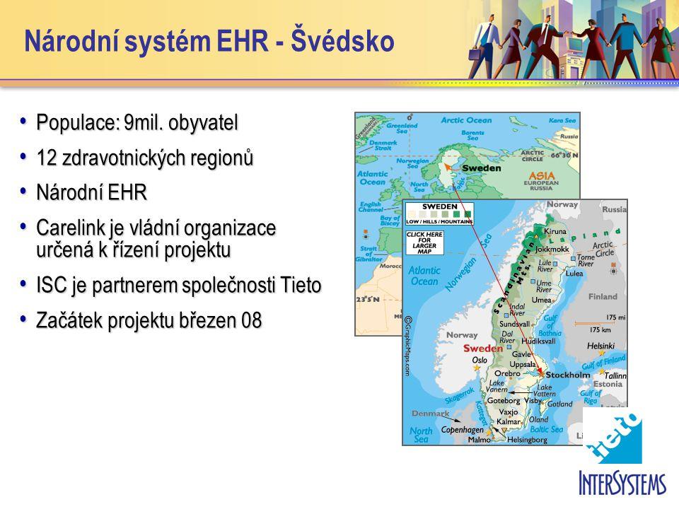 Národní systém EHR - Švédsko