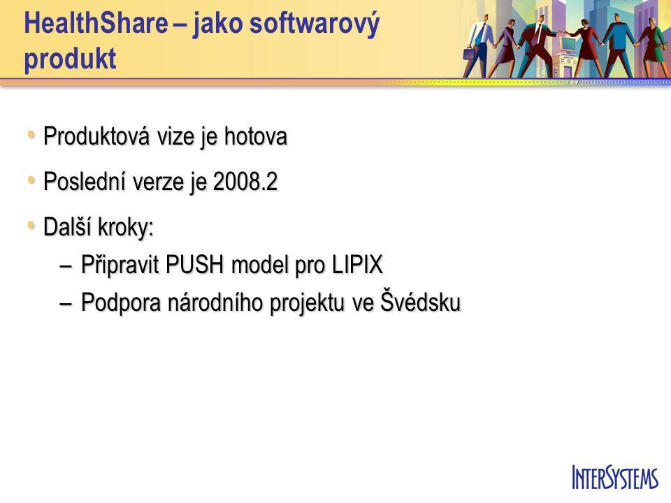 HealthShare – jako softwarový produkt