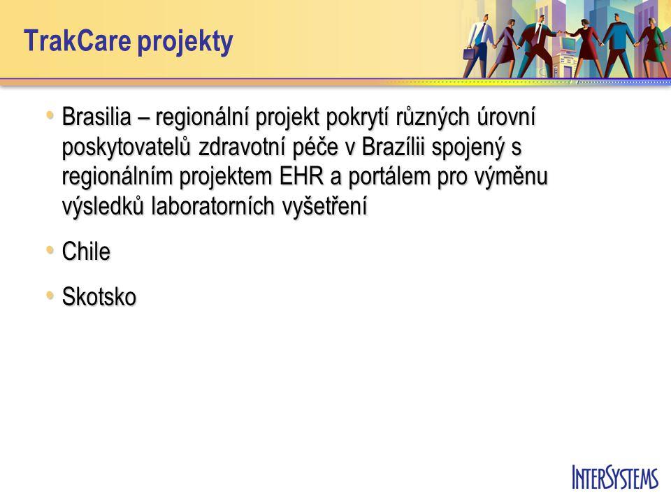 TrakCare projekty