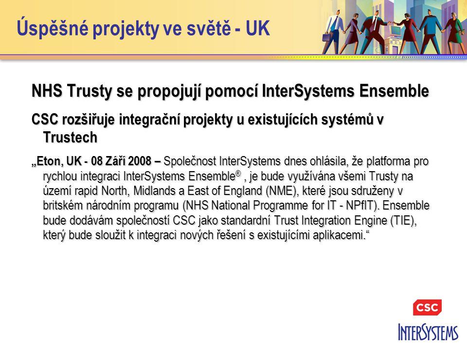 Úspěšné projekty ve světě - UK