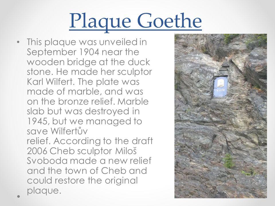 Plaque Goethe