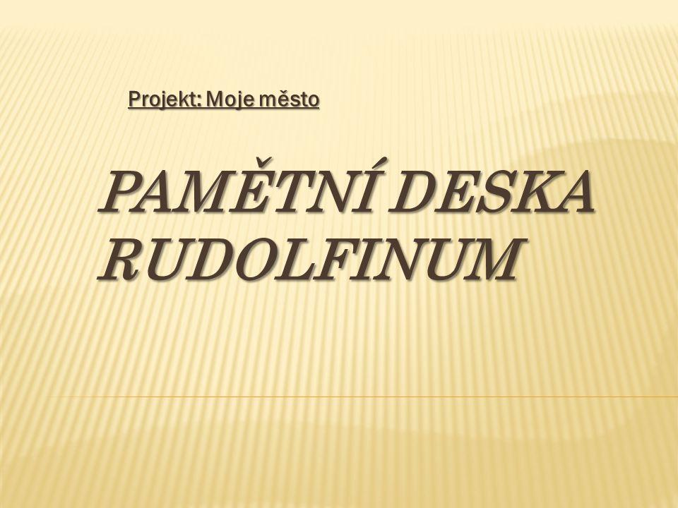 Pamětní deska Rudolfinum
