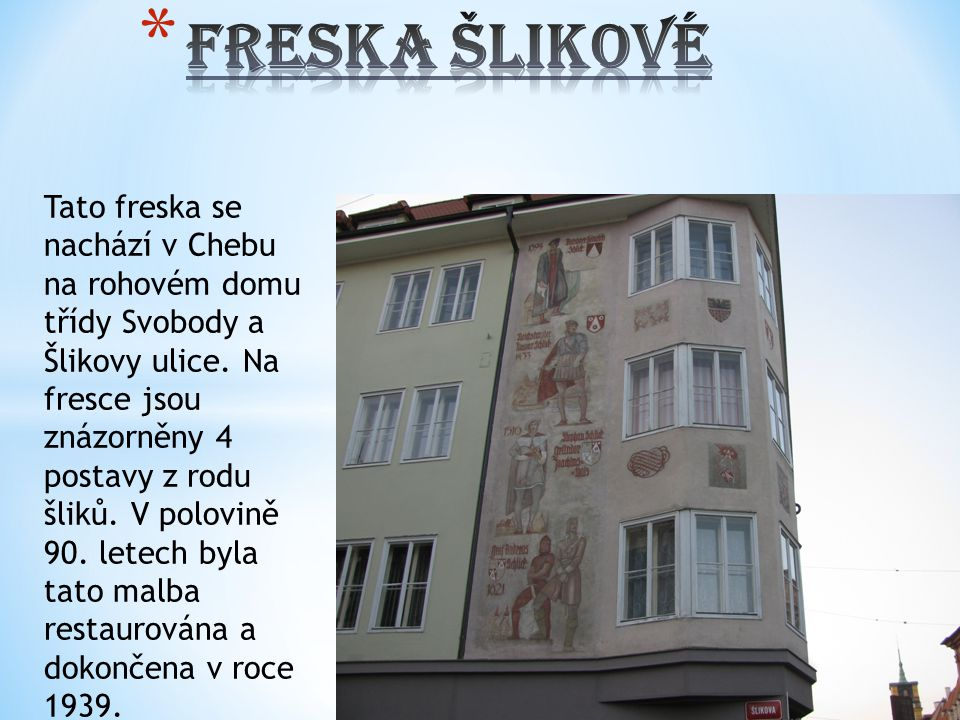 Freska Šlikové
