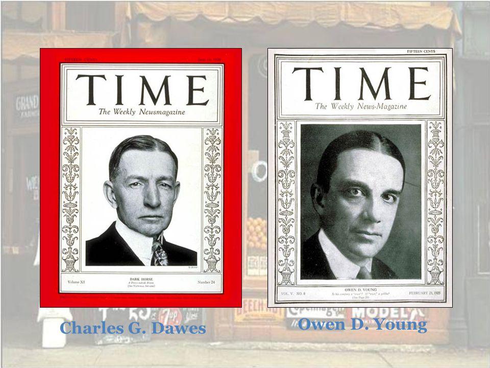 Owen D. Young Charles G. Dawes