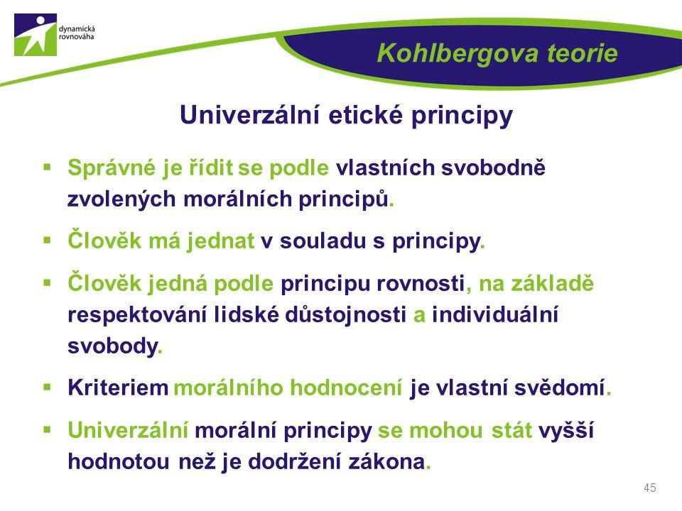 Univerzální etické principy