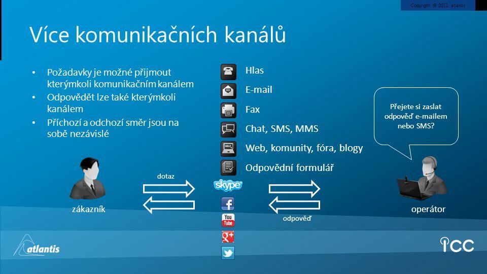 Více komunikačních kanálů