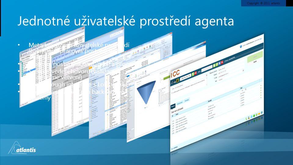 Jednotné uživatelské prostředí agenta