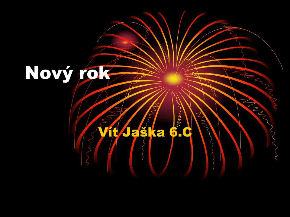 Nový rok Vít Jaška 6.C