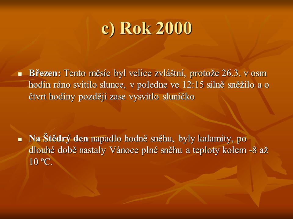 c) Rok 2000