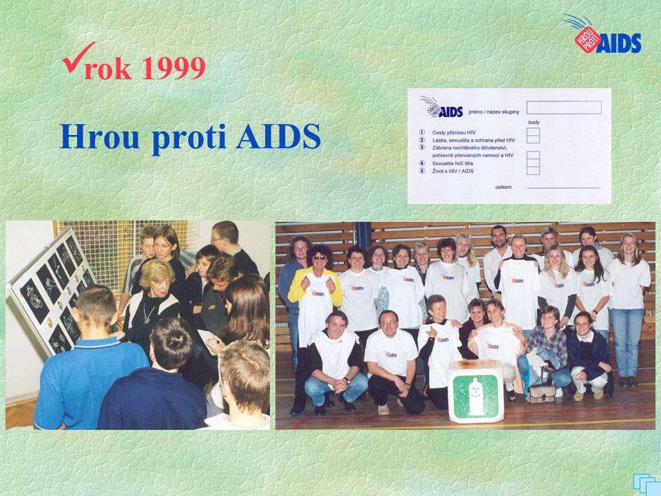 rok 1999 Hrou proti AIDS