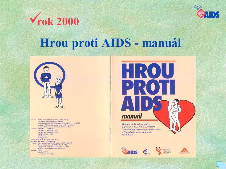 Hrou proti AIDS - manuál