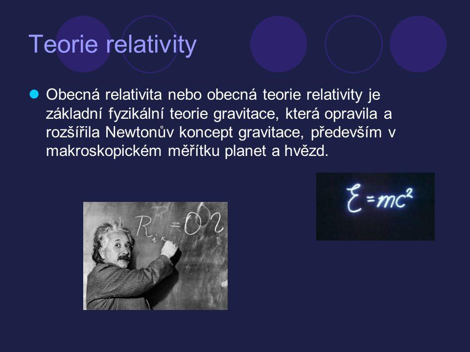 Teorie relativity