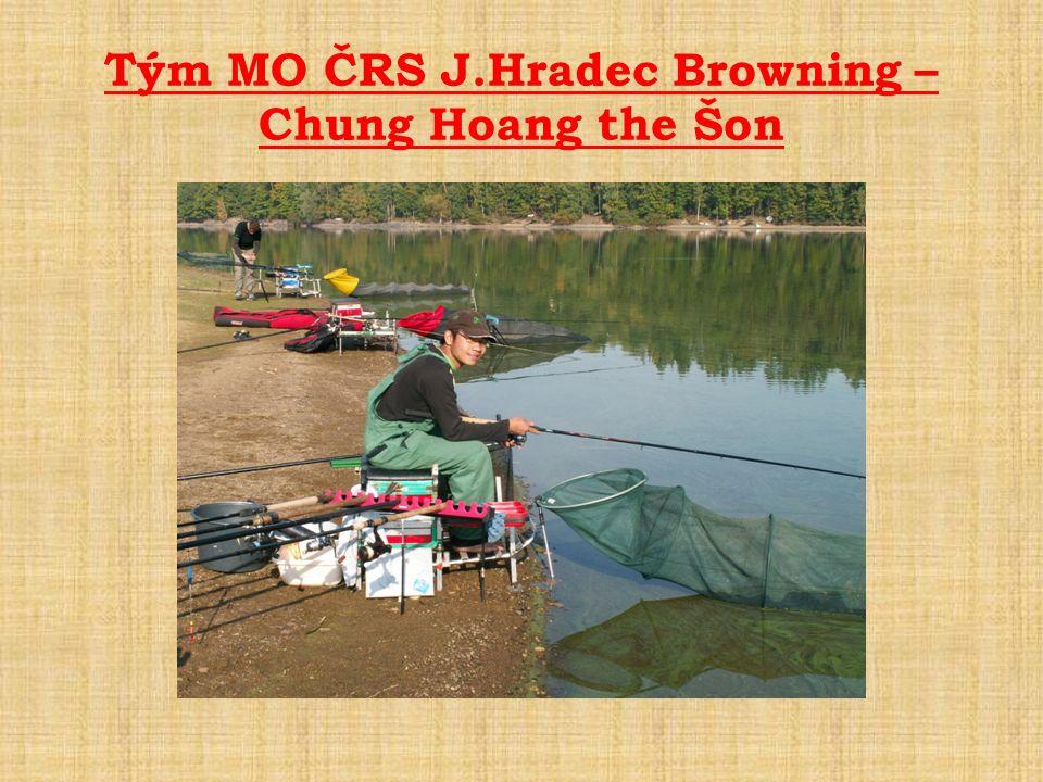 Tým MO ČRS J.Hradec Browning – Chung Hoang the Šon