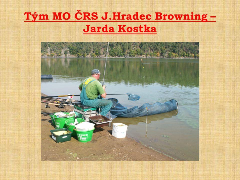 Tým MO ČRS J.Hradec Browning – Jarda Kostka