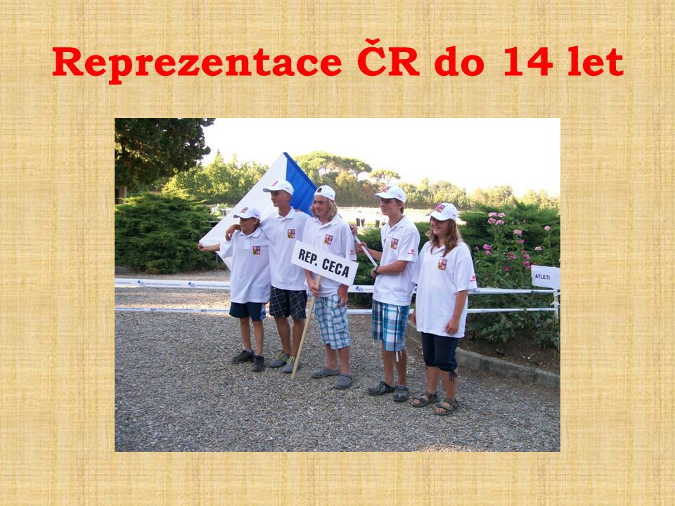 Reprezentace ČR do 14 let
