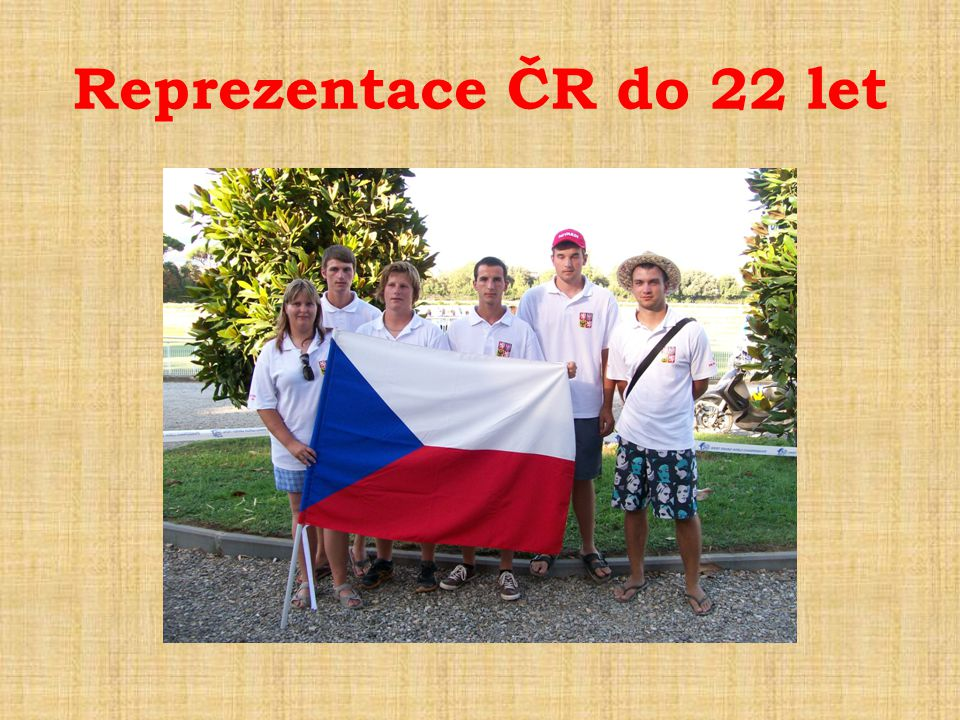 Reprezentace ČR do 22 let