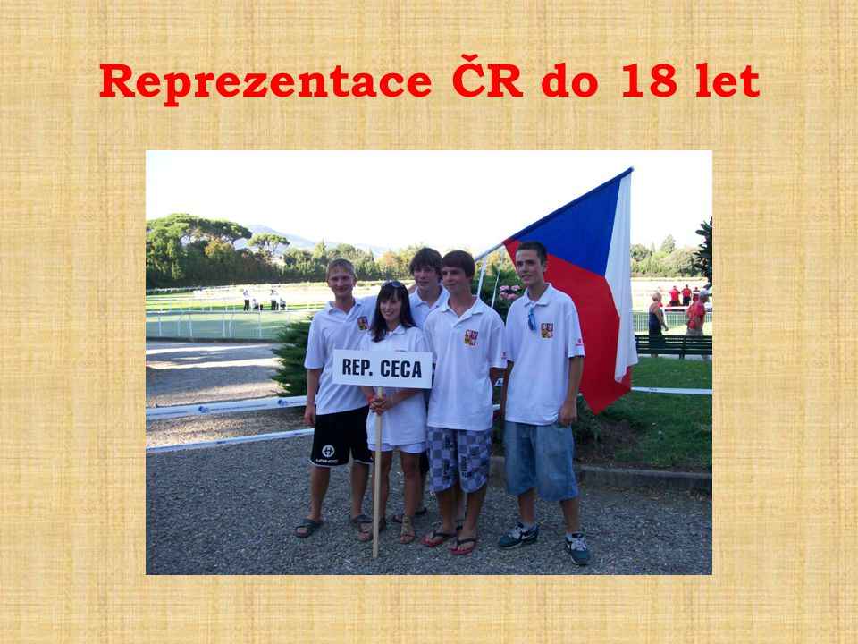 Reprezentace ČR do 18 let