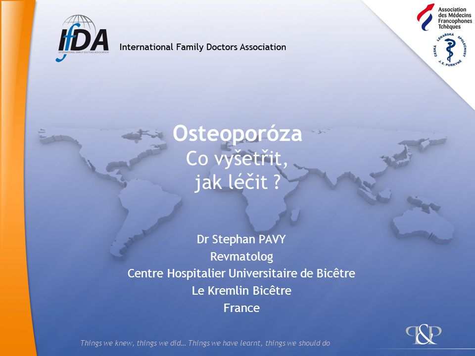 Osteoporóza Co vyšetřit, jak léčit
