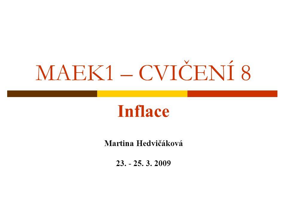 Inflace Martina Hedvičáková 23. - 25. 3. 2009